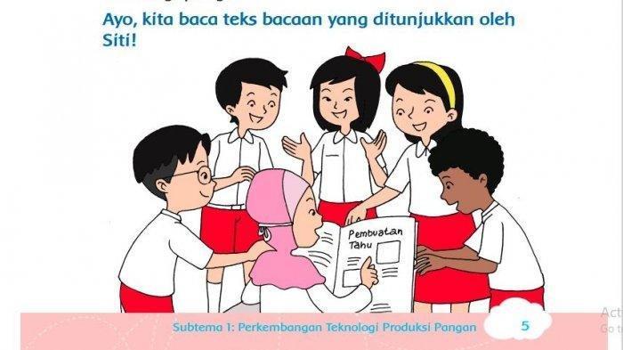 KUNCI JAWABAN Tema 7 Kelas 3 SD Halaman 7 Bagaimana Cara Mengolah Hasil Panen?