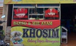 Bakso dan Mie Ayam Khosim di Serdang, Kecamatan Kramatwatu, Kabupaten Serang, Banten.