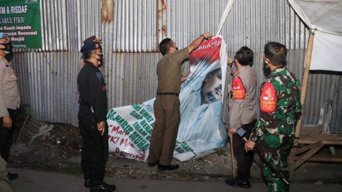 Tanpa Kerusuhan, Pelepasan Sejumlah Atribut FPI di Kabupaten Tangerang Berjalan Aman