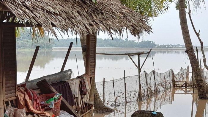 Banjir Mulai jadi Tamu Warga Cisangu Lebak Setelah Ada Pembangunan Jalan Tol Serang-Panimbang