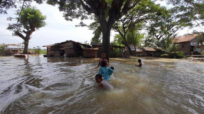 Warga Beberkan Penyebab Banjir di Kampung Karang Baru Kabupaten Serang, Ketinggian Air Capai 1,5 M