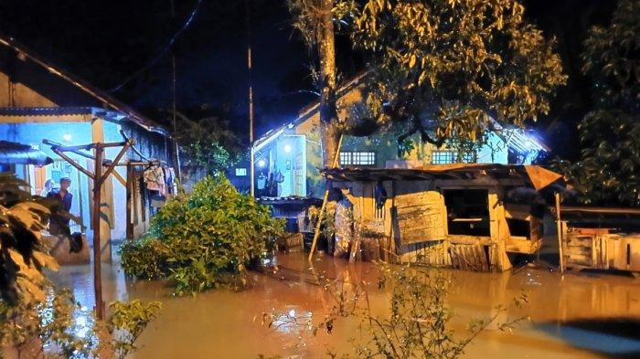 Kabupaten Lebak Terkepung Banjir, Terminal Hingga Rumah Tergenang Air, Ratusan Warga Mengungsi