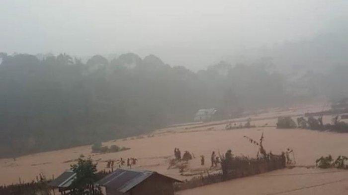 Kabupaten Lebak Ditimpa Bencana Banjir dan Longsor, Sejumlah Wilayah Gelap Gulita
