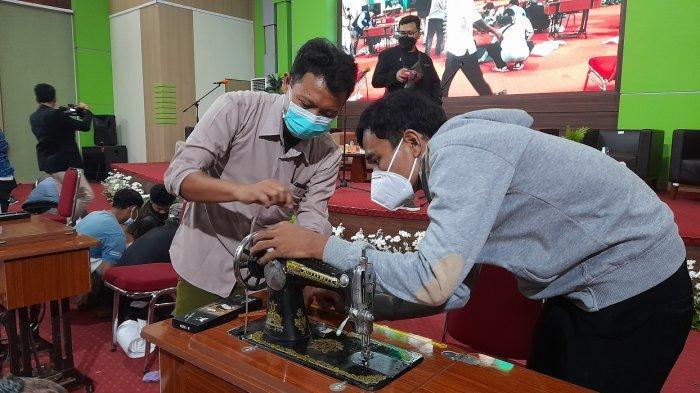 Bank Indonesia Banten Gelar Pelatihan Keterampilan Penjahit Keliling Sekaligus Pembayaran Digital