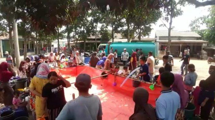 Cerita Warga Kecamatan Jawilan Serang Jarang Mandi Karena Krisis Air