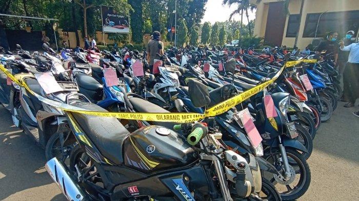 2 Tahun Gondol 1.825 Motor, Keuntungan Capai Rp 4,5 Miliar, D dan S Ditangkap Polresta Tangerang
