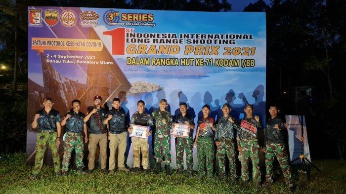 Batalyon 812 Satuan 81 Kopassus Meraih Juara Lomba Tembak di Sumatera Utara