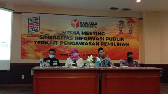 Bawaslu Banten Tangani Dugaan Pemberian Politik Uang di Pilkada Kabupaten Serang