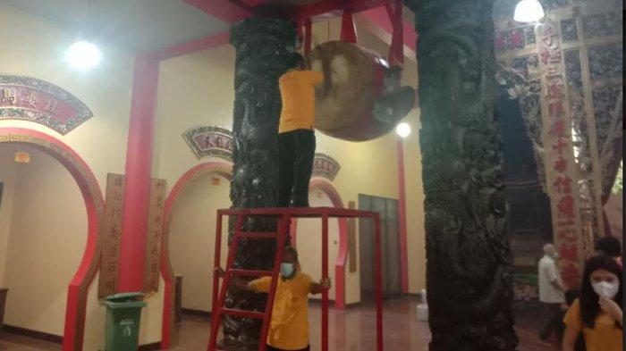 Ada Bedug di Vihara Avalokitesvara Simbol Toleransi Antar Umat Beragama, Ditabuh Saat Malam Imlek