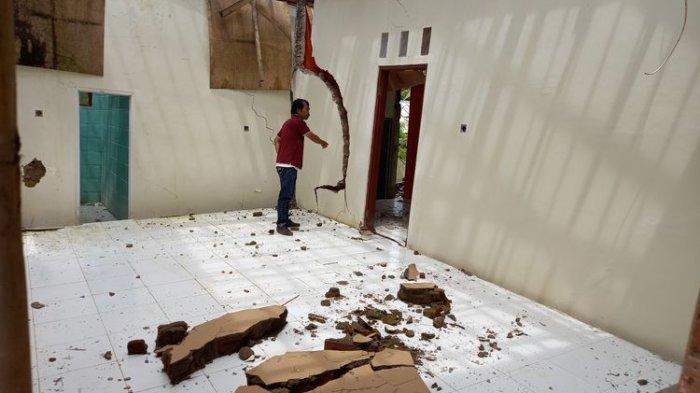 BPBD Ungkap Penyebab Tanah Bergerak di Lebak Banten, Berpotensi Terulang