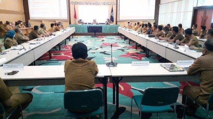 Hari Pertama Menjabat, Benyamin Davnie Langsung Kumpulkan Kepala Dinas dan Camat Tangerang Selatan