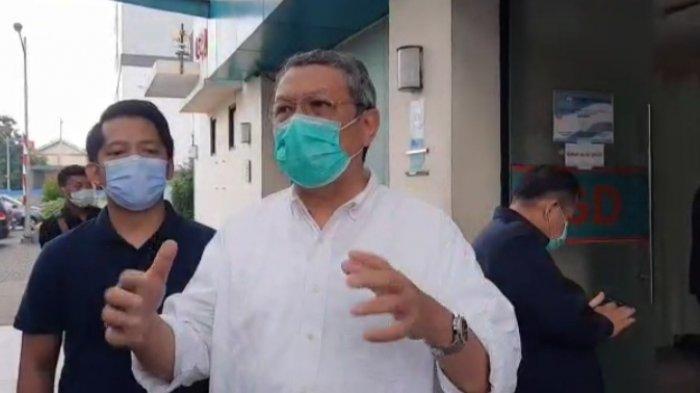 Benyamin Davnie saat ditemui di Rumah Sakit Umum Tangerang Selatan, Jum'at (30/10/2020).
