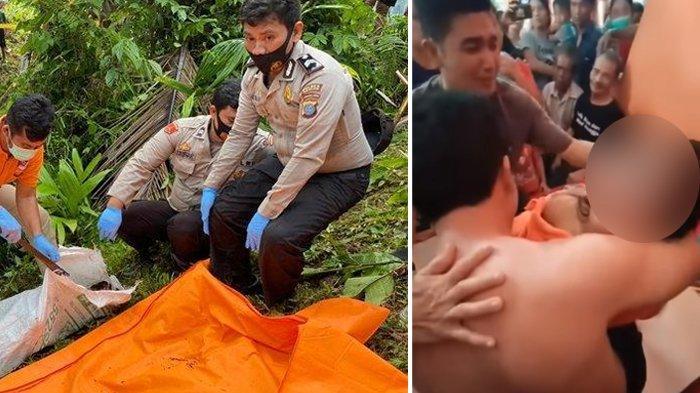 Anak Kades Ditemukan Tewas di dalam Karung dan Dibuang ke Bukit, Ayah Menjerit Peluk Jasad Putrinya