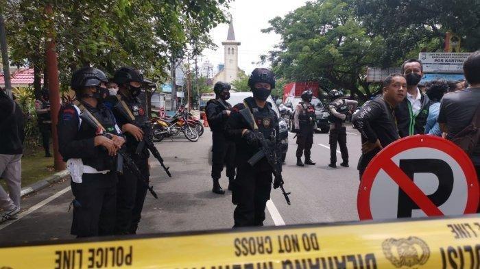 Pasca Ledakan di Geraja Katedral Makassar, Polda Banten Perketat Pengamanan Gereja di Banten