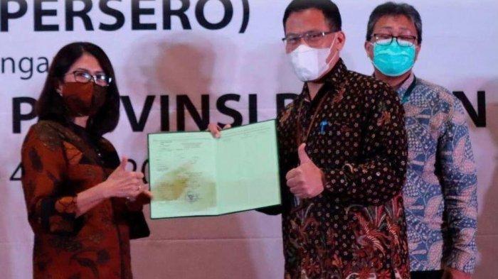 BPN Provinsi Banten Membagikan 91 Sertifikat Tanah Milik PLN