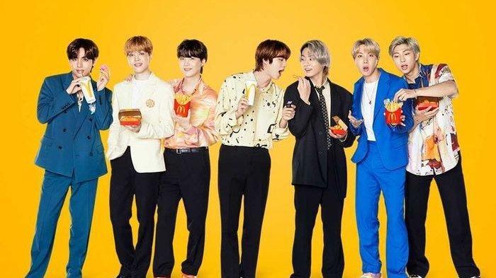 BTS Berhasil Kantongi Rp 128 Miliar dari Peluncuran Menu Kolaborasi Bersama McDonalds