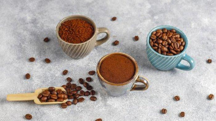 Ilustrasi - Bubuk kopi.