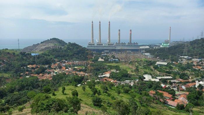 Bukit Teletubbies di kawasan Buah Dodol, Kelurahan Suralaya, Kecamatan Pulomerak, Kota Cilegon, Banten, Sabtu (6/3/2021).