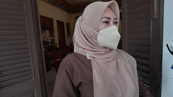 Bupati Pandeglang Irna Narulita di Pendopo Bupati Pandeglang, Senin (17/5/2021).
