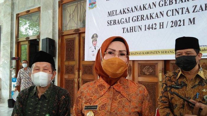 Bupati Ratu Tatu Larang Open House Lebaran di Kabupaten Serang