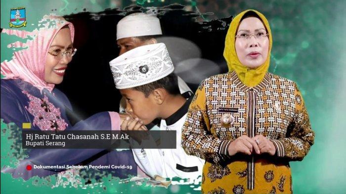 Sambut Hardiknas, Ratu Tatu Motivasi Pelajar untuk Semangat Tempuh Pendidikan di Tengah Pandemi