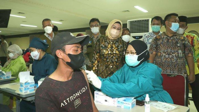 UPDATE Vaksinasi, 626.416 Warga Ber KTP Kabupaten Serang Sudah Suntik Vaksin Covid-19