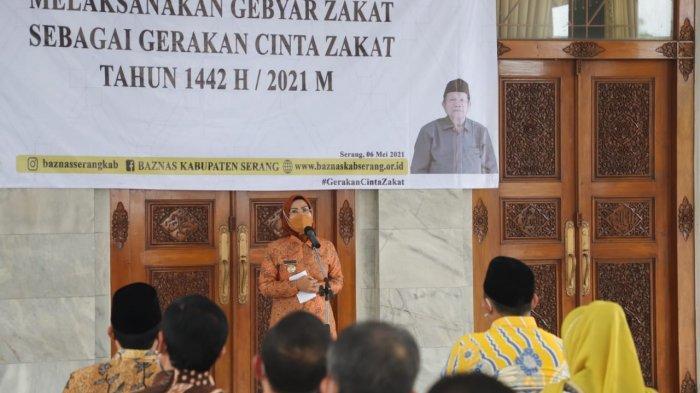 Gebyar Zakat Kabupaten Serang Capai Rp 2,6 Miliar, Naik 3,2 Persen Dibandingkan Tahun Lalu