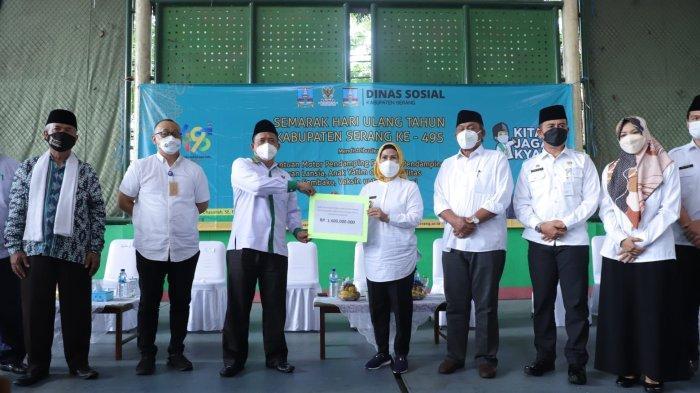Gebyar HUT Ke-495 Kabupaten Serang, Pemkab Berikan Berbagai Bantuan