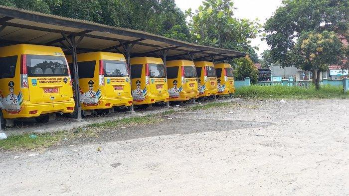 6 Bus Perintis Antar-Jemput Pelajar di Serang Tak Beroperasi, Hanya Dipanasin Setiap Pagi