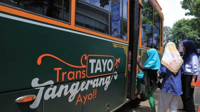 SIMAK! Layanan Angkutan Umum di Kota Tangerang Banten Digratiskan Satu Pekan