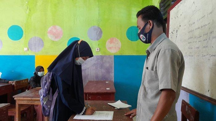 110 Calon Siswa Mendaftar di SMPN Satu Atap Catang Kabupaten Serang, 90 Orang Sudah Terverfiikasi