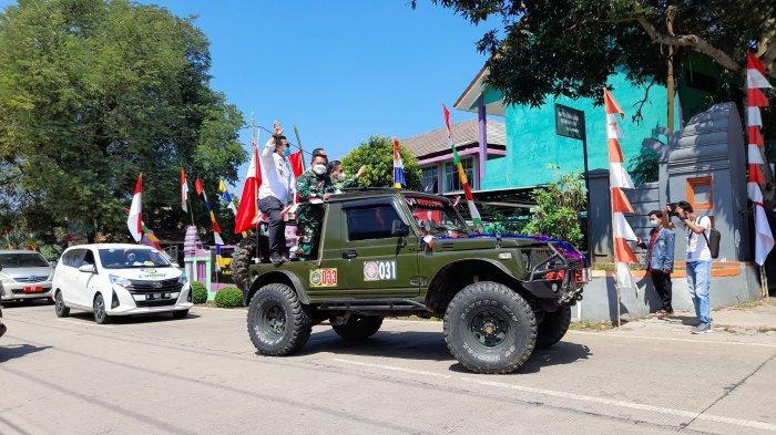 1001 Bendera Merah Putih akan Dikibarkan di Curug Kota Serang