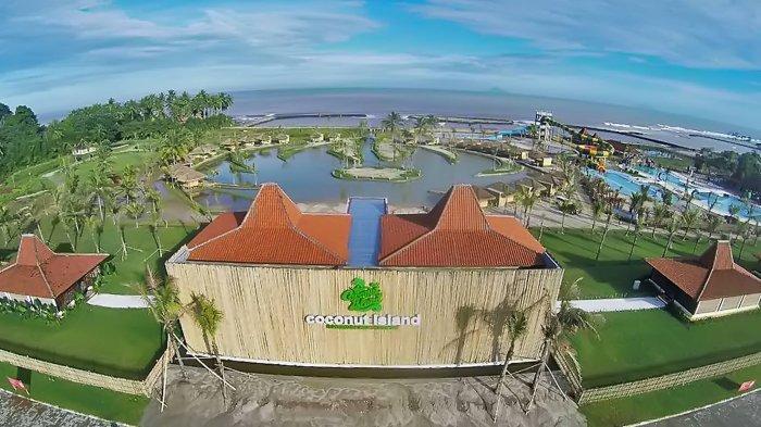 Nikmati Liburan di Coconut Island Carita, Beach Resort dan Waterpark Ala Jepang dan Indonesia
