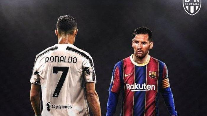 Ronaldo Kembali Covid-19 Jelang Juventus Vs Barcelona, Doa Messi untuk Ronaldo yang Belum Terkabul