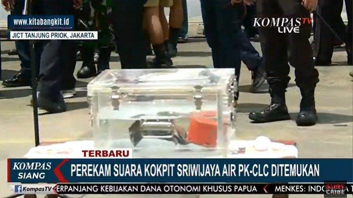 CVR Sriwijaya Air Ditemukan Pakai Kapal Penyedot Lumpur, Tim Hampir Menyerah di Hari Akhir Pencarian