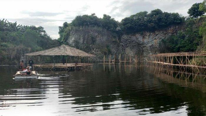 Warga Cilegon Ubah Bekas Galian Batu Jadi Tempat Wisata, Siap Dibuka Oktober 2021 Nanti