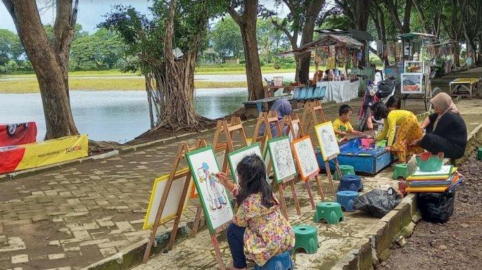 Kisah Dibalik Danau Tasikardi, Ada 'Pulau' di Tengahnya Hingga Warisan Kesultanan Banten Kedua
