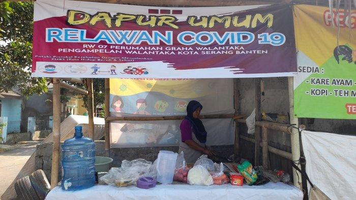 Cerita Warga Perum Graha Walantaka Kota Serang Bikin Dapur Umum, Tiap Hari Pasok Makan Pasien Isoman