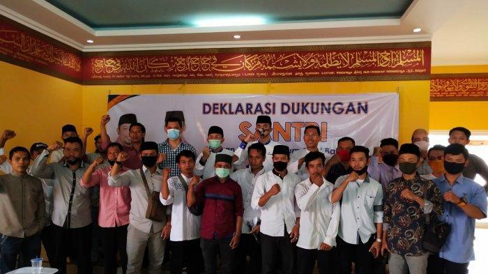 Nasrul-Eki Dapat Dukungan Relawan SANTRI