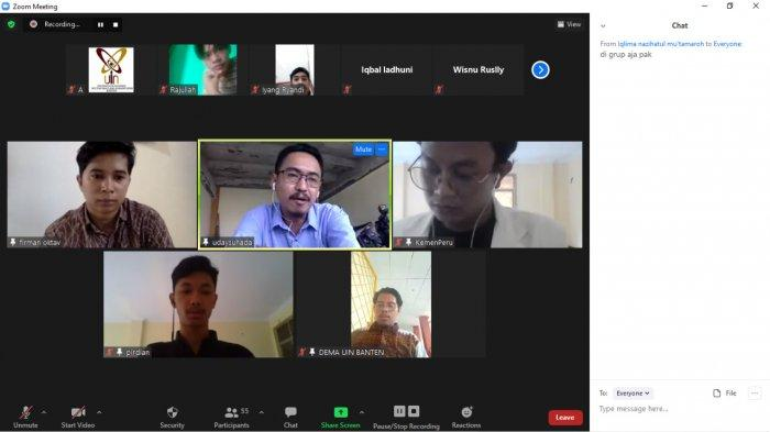 Dema UIN Soroti Kasus Korupsi di Pemprov Banten, Sangat Miris Sekali