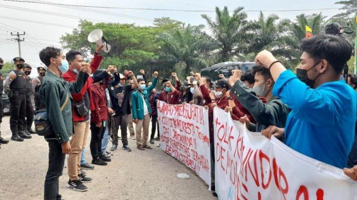 Mahasiswa Minta Kapolres Tangerang Dicopot Buntut Kasus Rekannya Dibanting saat Demo