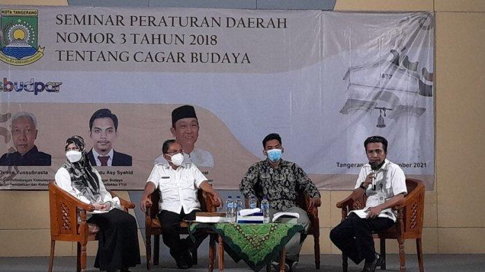 Disbudpar Kota Tangerang Gelar Seminar Perda tentang Cagar Budaya, Diharapkan Muncul Ide-ide Besar