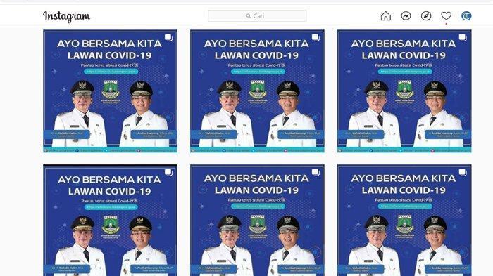 Instagram Dinkes Provinsi Banten