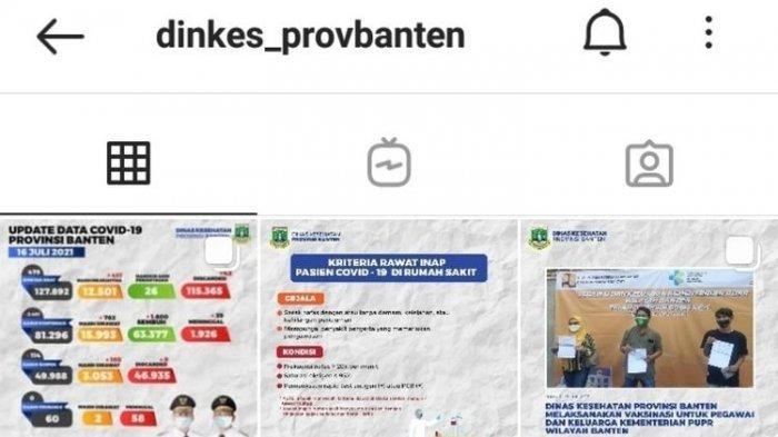 Usai Dikritik, Desain Feed Instagram Dinkes Banten Akhirnya Berubah, dr Tirta: Rakyat Bisa Mengawasi