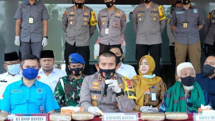 Polda Banten Gagalkan Penyelundupan Narkoba Lintas Provinsi