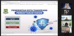 Pemkot Tangerang Usulkan Integrasi Avatar dengan Pcare Vaksinasi untuk Mempercepat Vaksin Covid-19