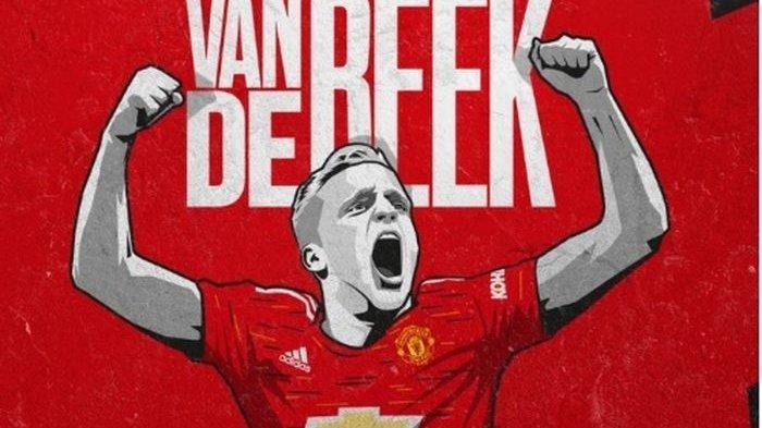 5 Fakta Menarik Donny van de Beek Gelandang Baru Manchester United