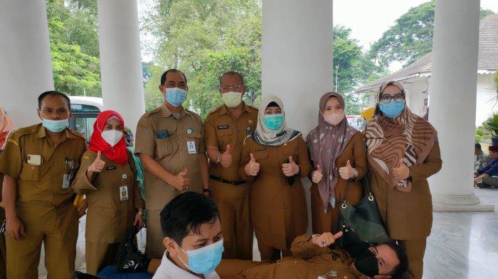 Semarak HUT Ke-495 Kabupaten Serang, PSKS hingga Pejabat Donor Darah, Menambah Stok PMI