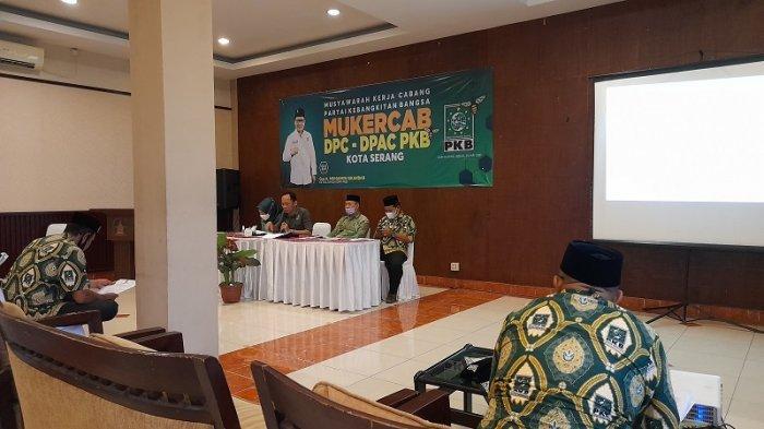 Gelar Mukercab, PKB Siap Usung Kader Maju di Pilkada Kota Serang