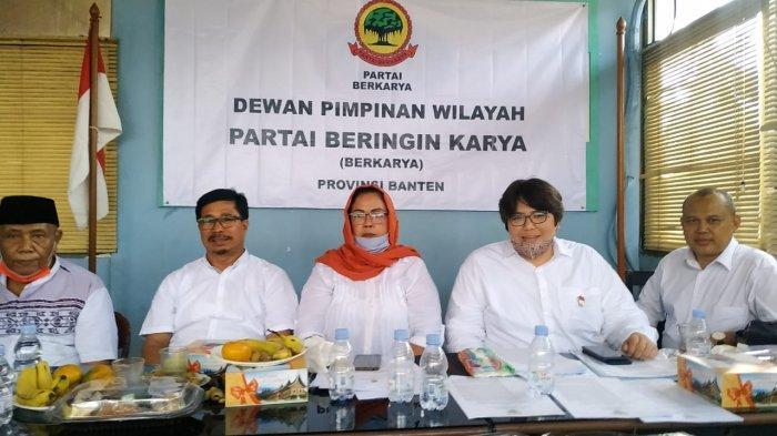 DPW Berkarya Banten Batalkan Dukungan untuk Ratu Tatu dan Helldy Agustian